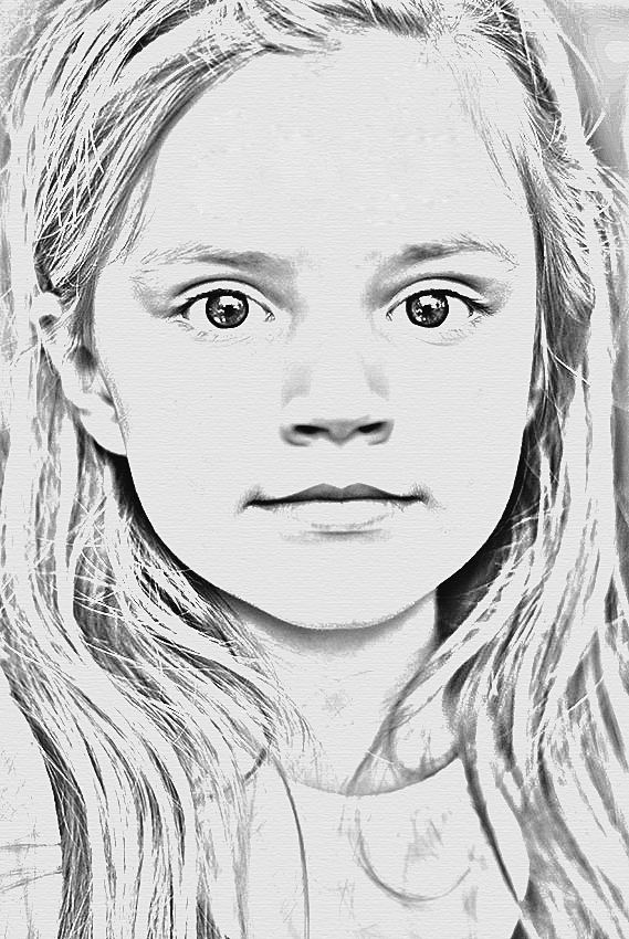 A photo transferred into a pencil drawing with Photoshop CS3, Zdjęciez zamienione w ołówkowy szkic za pomocą PHOTOSHOP CS3, photo and editing by podwiatr